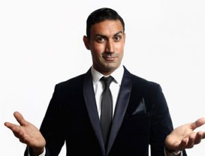 corporate comedian for hire